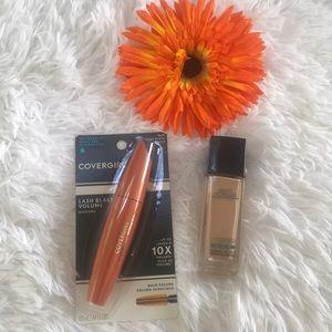 Makeup set of 2 ~ Fundation poreless + Mascara 🌼